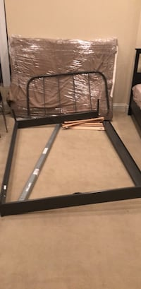 black and gray bed frame 洛杉矶, 90024