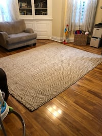 Gorgeous jute rug, less than a year old in great condition. Pittsburgh, 15212