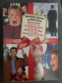 BNIB- 4 disc Christmas Classic collection DVD case