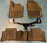 "Toyota C-HR All weather floor liner with trailer tow hitch 1 1/4""  McAllen, 78501"