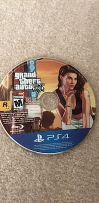 Grand Theft Auto Five PS4 game disc Portland, 97229