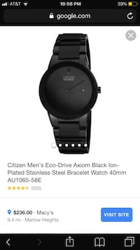 black citizens men's eco watch Alexandria, 22306