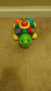 green and yellow Fisher-Price learning toy Hagerstown