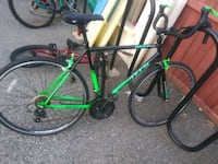 black and green road bike Springfield, 01107