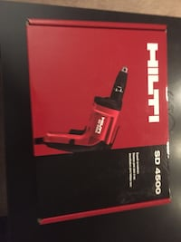 Hilti SD 4500 Drywall Screwdriver - brand new never been used Arlington, 22206