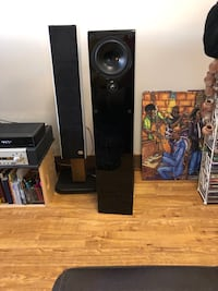 NHT ST4 speakers