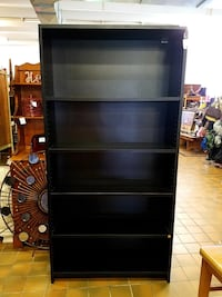Industrial laminate bookcase $75 plus tax  Spring Hill, 37174