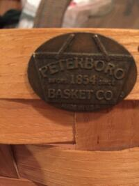 Extra Large Round Peterboro Basket Baltimore, 21209