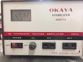 Voltage stabilizer to save your electronic systems