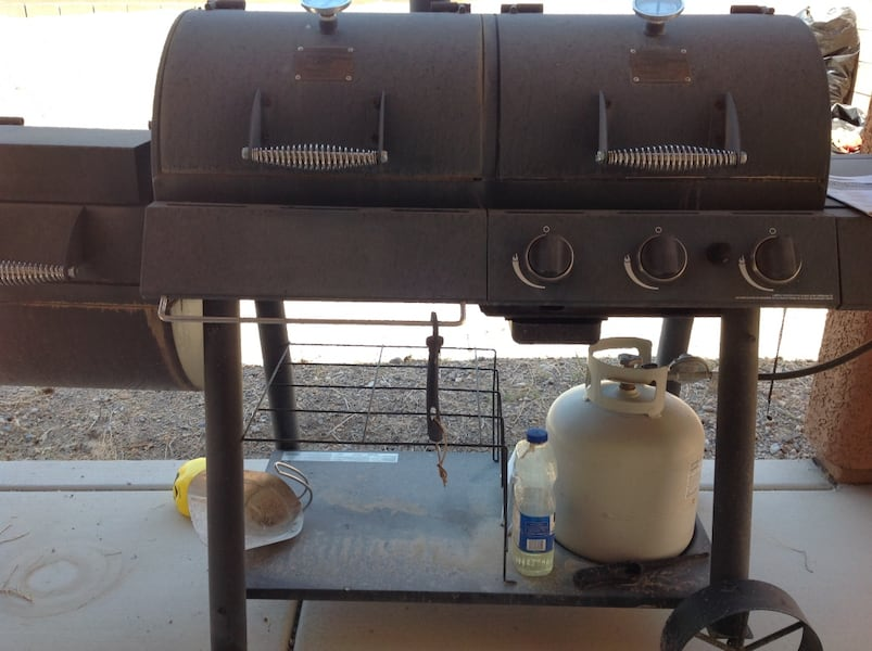 Smoker and Grill 6270582b-c9a6-43a4-be4d-79c8ebf4aa0c