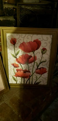 red and white flower painting Azusa, 91702