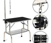 Brand new heavy duty pet grooming table