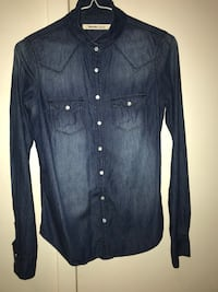Ladies Size Extra Small Bluenotes Denim Shirt Surrey, V3R