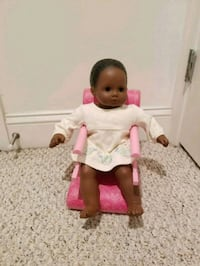 Bitty Baby Doll with High Chair