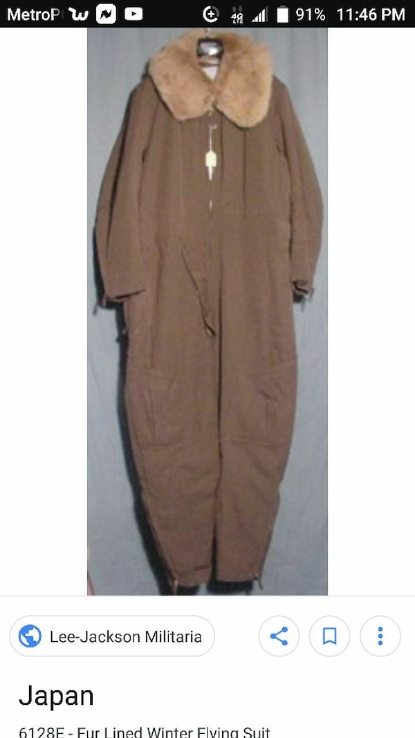 Used WWII JAPANESE FLIGHT SUIT for sale in Ceres - letgo 25f1a58e788