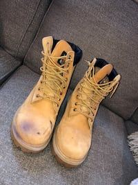 Size 9 Timberland Work Boots Used  North Andover, 01845