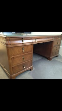 Antique lawyers desk