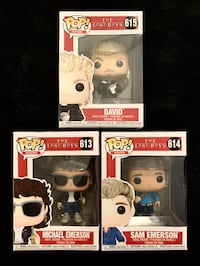 "Funko POP Figures ""The Lost Boys"" NIB Brampton, L6T 4A8"