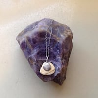 Shell Charm/Shell pendant on an 18 inch chain