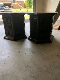 2 solid wood end table night stands Fort Washington