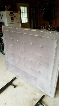 tufted gray headboard Patchogue, 11772