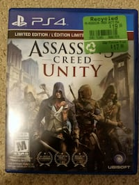 Assassin's Creed - Unity - PS4 Coquitlam, V3J 4B5