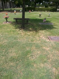 I have 2 burial plots that r side by side at T T . Anna, 75409