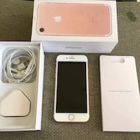 rose gold iPhone 7 with box Texas