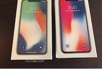 Two silver and space gray iPhone X Trout Run, 17771