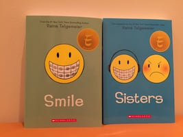 Livres pour ados, books for teens: Smile and Sisters