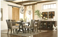 Farmhouse dinning table and chairs Houston, 77024