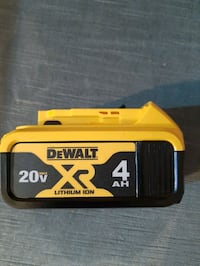 Dewalt XR 4AH Battery