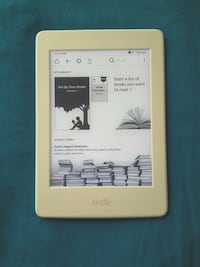 Amazon kindle paperwhite book tablet