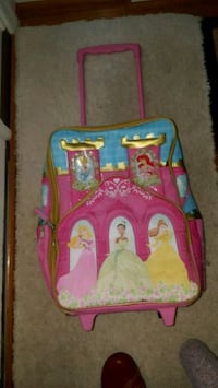 pink and blue Disney Frozen backpack Ashburn, 20147