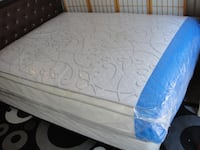 New queen size pillowtop mattress and box spring Silver Spring, 20902