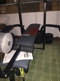 Bench press and weights  Fall River, 02720