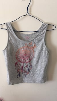 gray and brown dreamcatcher-printed tank top Apopka, 32712