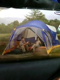 Two room lodge tent with screen porch St. Cloud, 56303