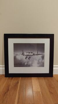 Framed Aircraft picture Calgary, T2K 4L1