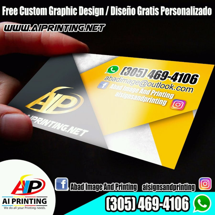 Business Cards 1K for $30