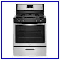 Scratch and Dent Whirlpool Gas Range WFG320M0BS Minneapolis