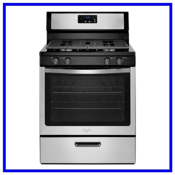 Scratch and Dent Whirlpool Gas Range WFG320M0BS