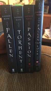 Fallen Book Series (Books 1-4) [1st Editions] Los Angeles, 91342