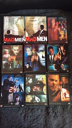 Mad men og 24 DVD
