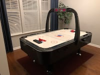 Full Size 7' Sportcraft Air Hockey Table, Turbo Hockey. Electronic Scoring and Game Clock Raleigh, 27612