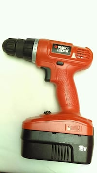 red and black Black & Decker cordless hand drill Burien, 98166