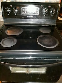 black and gray induction range oven Barrie, L4N 8S5
