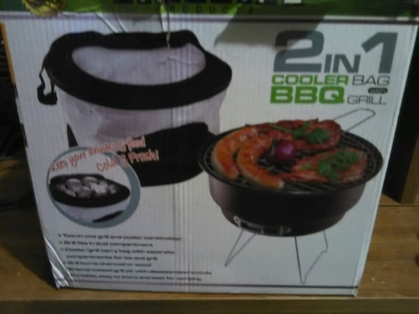2 in 1 cooler bag with BBQ grill  c954eacd-aecb-422b-b4ec-7f5593e1b713