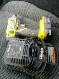 yellow and black Ryobi cordless power drill Port St. Lucie, 34953