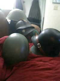 Military helmets with a 1926vfrench Adrian helmet, make me a offer